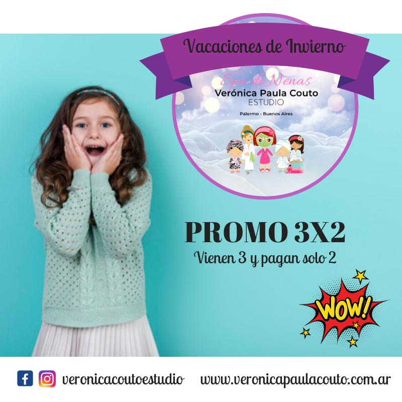 Promo 3×2 Vacaciones de Invierno